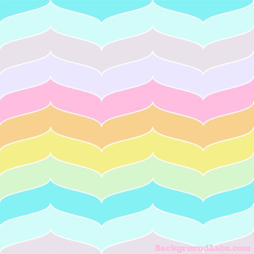 Seamless Curved Chevron Stripes