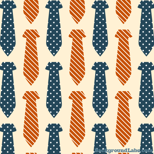 Seamless Pattern With Neckties Background Labs