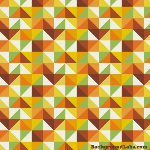 Diamond-Shaped Retro Pattern