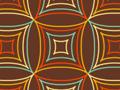 Retro Funky Squares Pattern