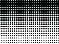 Black and White Halftone Background