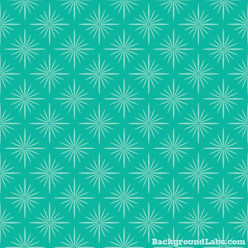 Geometric Floral Pattern