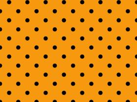 Halloween Polka Dots