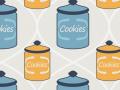 Cookie Jar Seamless Pattern