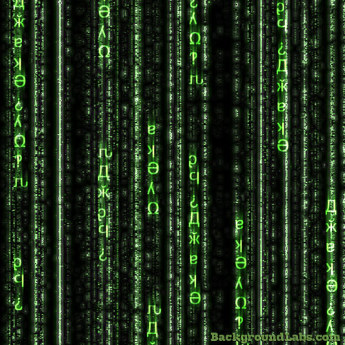 Matrix Code Background