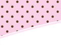 Pink and chocolate PowerPoint background