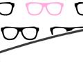 Geek Glasses PowerPoint Background