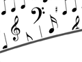 Music Notes PowerPoint background