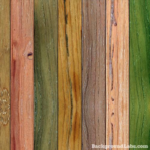 Painted Wood Planks Large Background