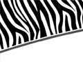 Zebra Print PowerPoint Background