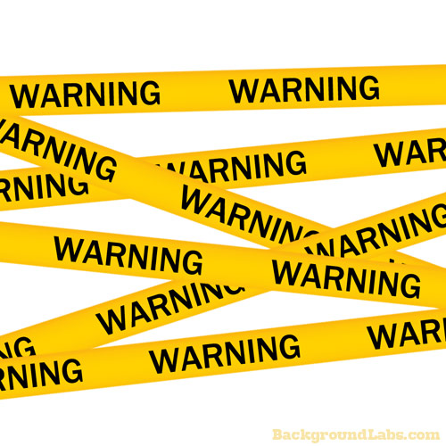 Warning Tape Background