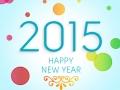 2015 Happy New Year Background