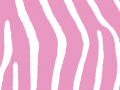 Pink Zebra Print Background