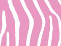 Pink Zebra Print Background