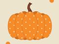 Polka Dot Pattern with Pumpkins