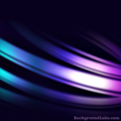 Purple Light Streams