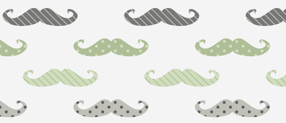 Retro mustache