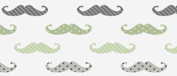 Retro mustache