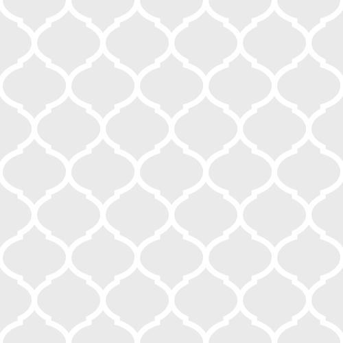 Light Grey Moroccan Pattern
