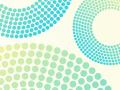 Pastel Circle Dot Background