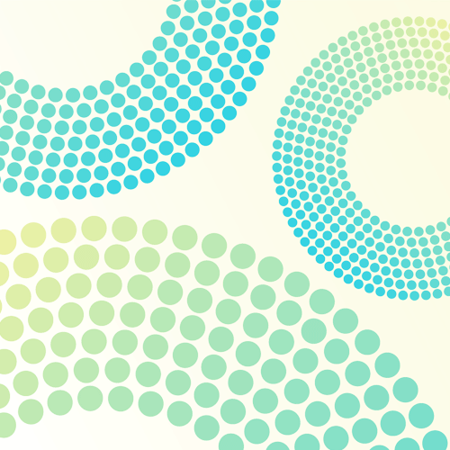 Pastel Circle Dot Background