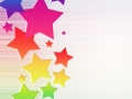 Colorful Stars Background