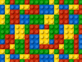 Plastic Blocks Seamless Pattern